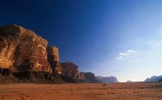 Wadi Rum, Jordan  A number of tour operators, including Abercrombie and Kent, include hot air balloon rides over Wadi Rum in their packages to Jordan. The Wadi Rum desert is known for its weather-beaten landscapes and spectacularly rock formations.
