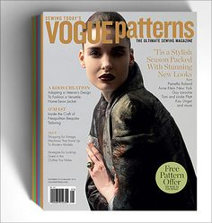 Vogue Patterns Magazine 1-Year Subscription(Canada only)