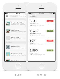 #app #ui #flat #design