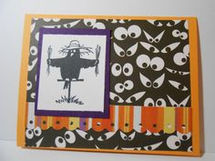 Halloween Greting Card by susieqpapercreations on Etsy