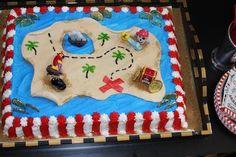 Pirate Birthday Cake