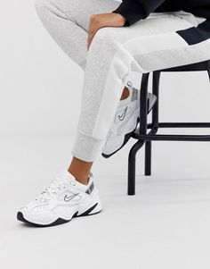 Order Nike White Tekno Sneakers online today at ASOS for fast delivery, multiple payment options and hassle-free returns (Ts&Cs apply). Get the latest trends with ASOS. Nike Trainers, Nike Sneakers, Sneakers Fashion, Nike Shoes, Women's Shoes, Nike Sandals, Fashion Sandals, Nike Sportswear, Reebok