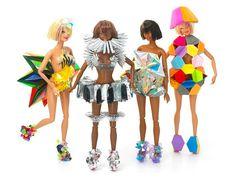 Barbie par Fred Butler