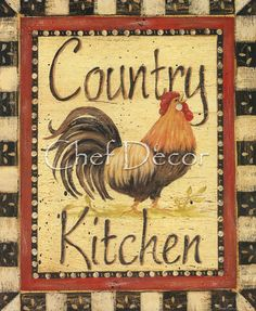 I have a Kitchen full of Roosters :)