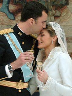 Boda del Príncipe Felipe y la Princesa Letizia en Madrid | Prince Felipe  Princess Letizia of Asturias