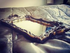 #antique tray #baroque #coffeeinbed #doitwithstyle #diy #homedesign