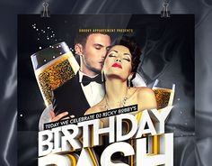 "Check out new work on my @Behance portfolio: ""Birthday Bash Flyer"" http://be.net/gallery/34597719/Birthday-Bash-Flyer"
