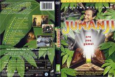 Jumanji (1995) DE R1 DVD sleeve by Andrew