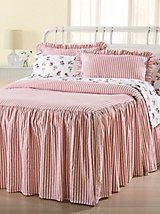 Drop Ruffle Bedspread Home Ideas