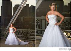 Pedistrian Bridge Bridal Photo Nashville 2