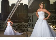 Pedistrian Bridge Bridal Photo Nashville 2