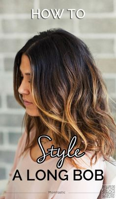 32. #Beachy Waves - Sick of #Having Long Hair? #Check out These Long Bob Inspos Now! → Hair #Inspos