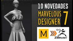 10 Novedades en Marvelous Designer 7