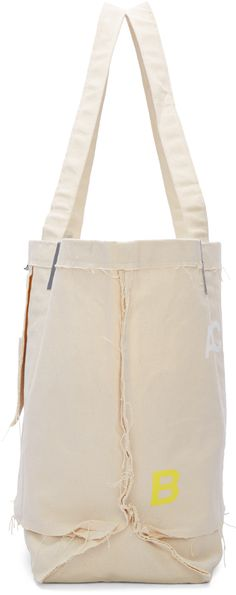 A-Cold-Wall*: Beige Industrial Cement Bag | SSENSE