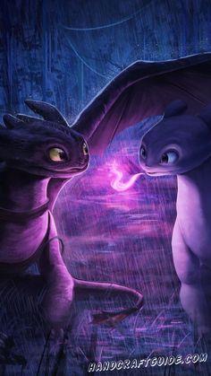 Toothless Wallpaper, Dragon Wallpaper Iphone, Wallpaper Art, Httyd Dragons, Cute Dragons, Night Fury Dragon, Pinturas Disney, How To Train Dragon, Dragon Pictures