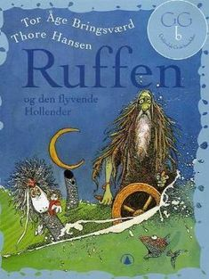 """""""Ruffen og den flyvende hollender"""" av Tor Åge Bringsværd Den, Comic Books, Comics, Reading, Drawing Cartoons, Word Reading, Comic Book, Reading Books, Comic"""