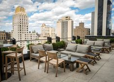 If you're not drinking a cocktail on a rooftop, you're doing summer wrong. Fortunately, we tracked down the best rooftop bars NYC has to offer. Pergola Attached To House, Deck With Pergola, Pergola Plans, Diy Pergola, Pergola Shade, Pergola Ideas, Pergola Kits, Pergola Roof, Rooftop Terrace Design