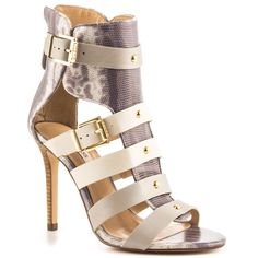 Lany - Gray Multi Lea Guess Shoes $119.99