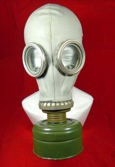 Original Soviet Russian Cold War Gas Mask GP5
