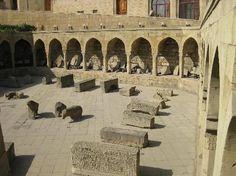 Baku, Azerbaijan: Inside city walls