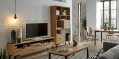 Nordic Living Room, Small Apartment Living, Small Apartments, Living Room Decor, Style At Home, Tv Furniture, New Homes, Interior Design, House Styles