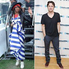 Pin for Later: Diese Stars haben zusammen die Schulbank gedrückt Lauryn Hill und Zach Braff Die Sängerin und der Schauspieler verbrachten gemeinsam Zeit auf der High School in New Jersey.
