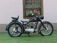Motocyclette BMW R 25, 250 monocylindre, Munich, Baviere, Allemagne, Europe