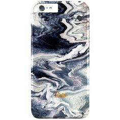 Tempest / iPhone Marble Case (46 CAD) ❤ liked on Polyvore featuring accessories and tech accessories