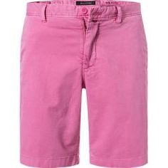 Marc O'Polo Herren Hose Shorts, Slim Fit, Baumwolle, pink rosa Marc O'Polo