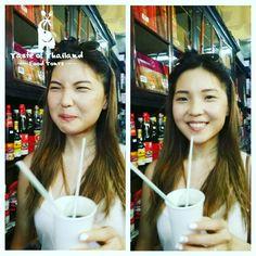 Mysterious Chinese tea effect #TasteofThailand