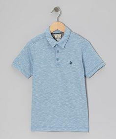 Take a look at this Free Blue Polo - Boys by Volcom on #zulily today!