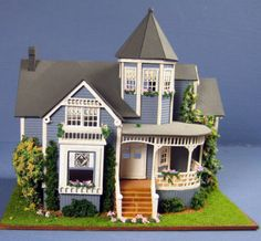 Pat Russo blue Victorian