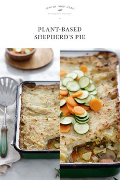This healthy version of plant-based shepherd's pie celebrates vegetables in a light, springy version of a family favorite.