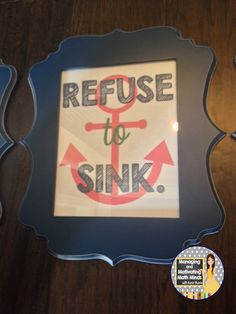 Nautical Classroom Quotes and other Crafty Ideas