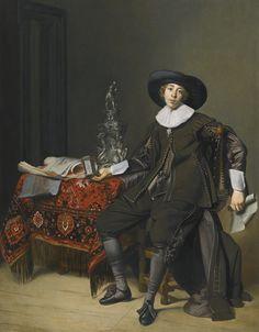 Thomas de Keyser PORTRAIT OF A SILVERSMITH, PROBABLY CHRISTIAN VAN VIANEN (1600–67)
