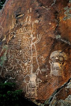 Dinwoodie Style Petroglyphs, Wyoming by WY Man on Flickr.