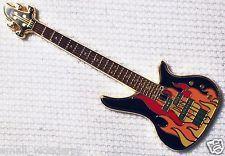 Fire-Rock Guitar - Gold Finish - New Unactivated Geocoin