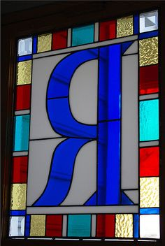 Stained+glass+letter