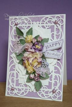 Flowers, Ribbons and Pearls: Tuesday Tutorial - Combining Spellbinders
