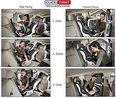 Britax Boulevard ClickTight Convertible Car Seat - 2 Layer Impact Protection - Rear and Forward Facing - 5 to 65 Pounds, Circa Britax Boulevard, Kids Zone, First Car, Rebounding, In The Heights, Convertible, Car Seats, Babies Stuff, Bar