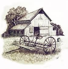 pen drawings old barns acrylic - Yahoo Image Search . pen drawings old barns acrylic - Yahoo Image Pencil Art Drawings, Art Drawings Sketches, Barn Drawing, Illustrations Vintage, Barn Art, Wood Burning Art, Drawing Projects, Landscape Drawings, Old Barns