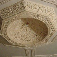 Tv Wall Design, Door Design, House Design, Dome Ceiling, Ceiling Detail, Classic Architecture, Islamic Architecture, Molding Ceiling, False Ceiling Design