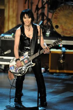 Joan Jett now    She gets hotter with age.