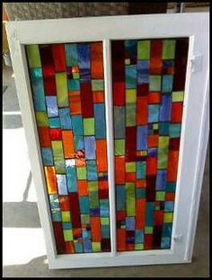 Stained Glass Mosaic Window by leannchristian, via Flickr