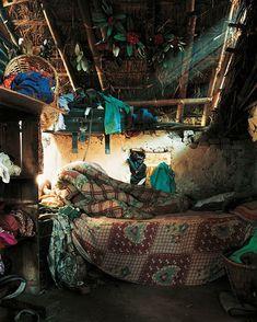 chidrens bedrooms from around the world- Indira, 7, Kathmandu, Nepal- http://imconstance.com/childrens-rooms-around-the-world/