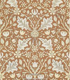 Triple Net wallpaper, by William Morris. England, 1891