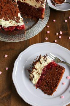 Haselnuss – Kirsch – Kuchen