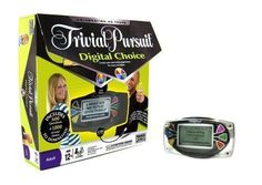Trivial Pursuit Digital Choice - Electronic Version of Classic Game-MSRP $79.98 #ParkerBrothers