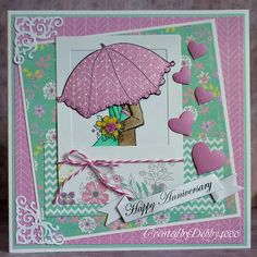 Created by Debby for the Simon Says Stamp Wednesday Challenge (Wedding or Anniversary) February 2014