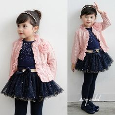 I like this, how do you think? Buy here: http://www.wholesalebuying.com/product/2014-new-3pcs-set-baby-kids-children-girls-toddler-cute-flower-clothing-clothes-coat--t-shirt--skirt-tutu-dress-set-outfit-73458?utm_source=pin&utm_medium=cpc&utm_campaign=ZYWB90